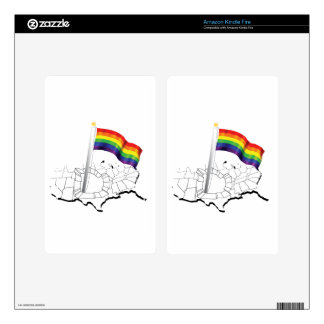 Gay Flag Skins For Kindle Fire