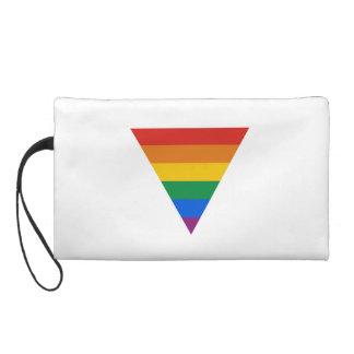GAY FLAG TRIANGLE WRISTLETS
