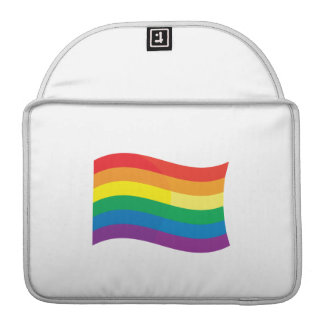 GAY FLAG WAVING MacBook PRO SLEEVE