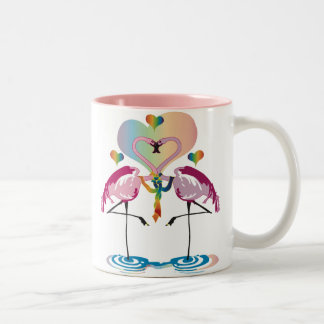 Gay Flamingos Mugs