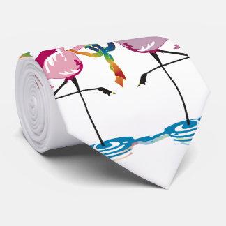 Gay Flamingos Tie