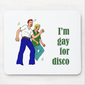 Gay for Disco Mouse Pad