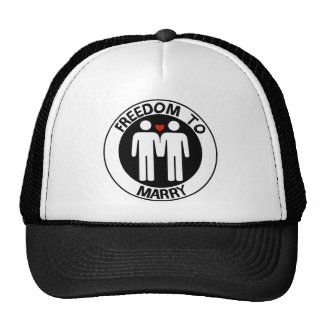 Gay Freedom To Marry Trucker Hat