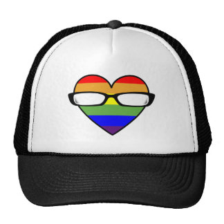 Gay Geek Love Trucker Hat
