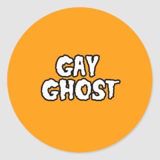 GAY GHOST - Halloween -.png Sticker