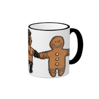 gay gingerbread trio mug