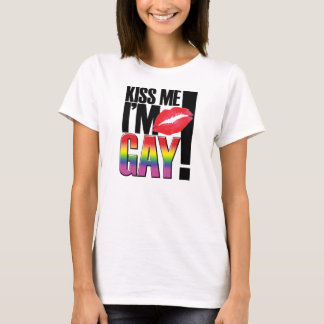 Gay Graphic Tees - Kiss Me