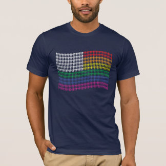 Gay Graphic Tees - Pride Flag MEN