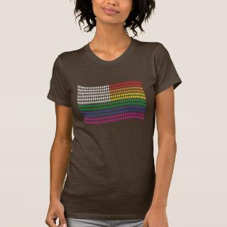 Gay Graphic Tees - Pride Flag WOMEN
