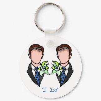 Gay Groom keychain
