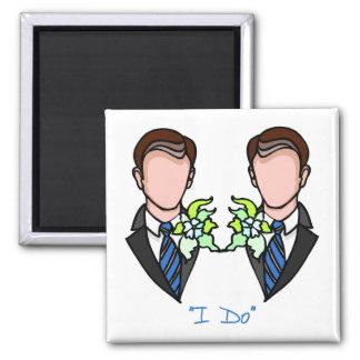 Gay Groom Marriage Magnet