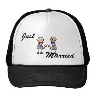 Gay Grooms Trucker Hat