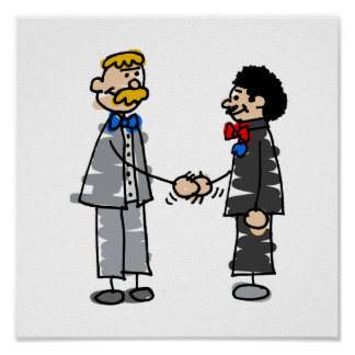Gay Grooms Marry Poster