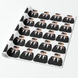 Gay Grooms Wedding Gift Wrapping Paper