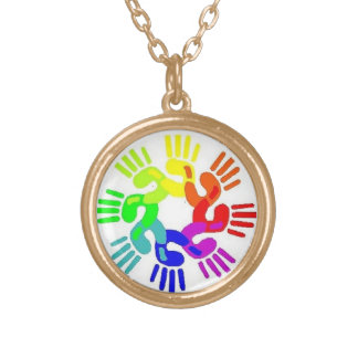 Gay Hands United Necklace