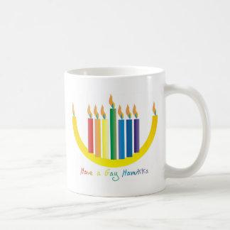Gay Hanukka Mug