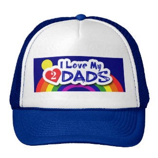 GAY Hats - Luv 2 Dads