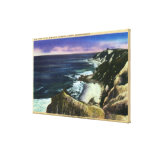Gay Head Cliffs, Striped Bass Fishing Grounds Canvas Print
