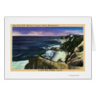 Gay Head Cliffs, Striped Bass Fishing Grounds Card