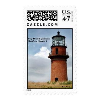 Gay Head Lighthouse, Martha's Vineyard Postage Stamp