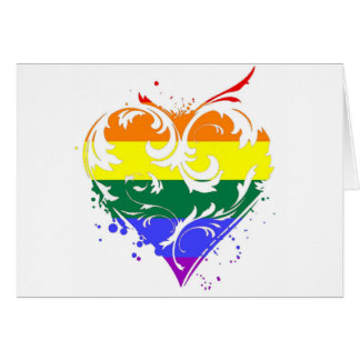 gay heart greeting cards