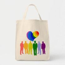 GAY HEART TOTE BAG