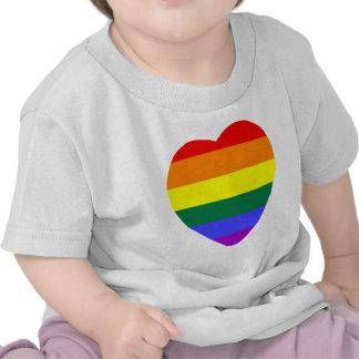 Gay Heart T Shirt
