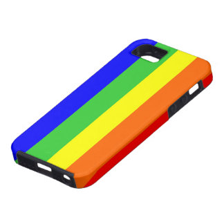 gay homosexual lesbian proud rainbow colors flag iPhone SE/5/5s case