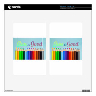 Gay is Good Design Kindle Fire Decal