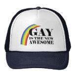 Gay is the new Awesome Mesh Hat