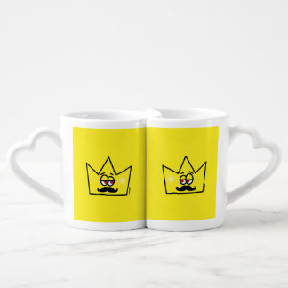 Gay King Crown Coroa Coffee Mug Set