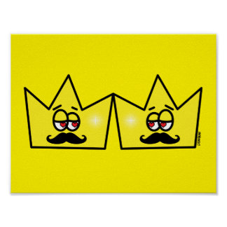 Gay King Crown King Crown Poster