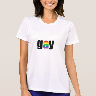 Gay Ladies Performance Micro-Fiber T-Shirt