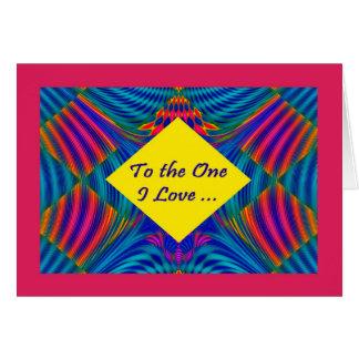 Gay/Lesbian fractal birthday card