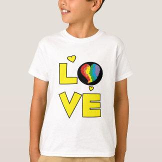 "Gay Lesbian ""Love"" Pride Heart Gifts T-Shirt"