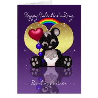 Gay / Lesbian Partner Valentine's Day Card - Cute