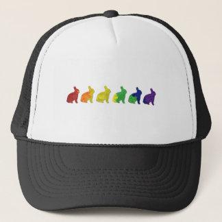 Gay & Lesbian Pride Bunnies Trucker Hat