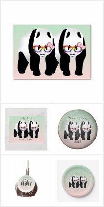 Gay Lesbian Pride Panda Bears