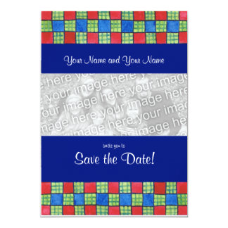 Gay/Lesbian 'Save the Date' Photo Card Invitation