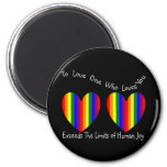 Gay/Lesbian Valentine Cards and Gifts 2 Inch Round Magnet
