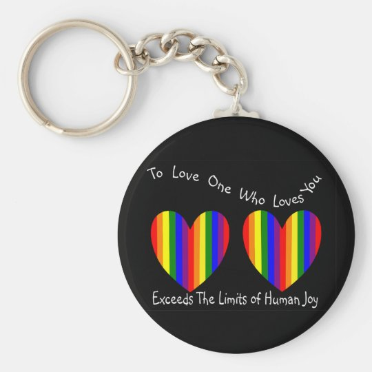 Gay/Lesbian Valentine Cards and Gifts Keychain