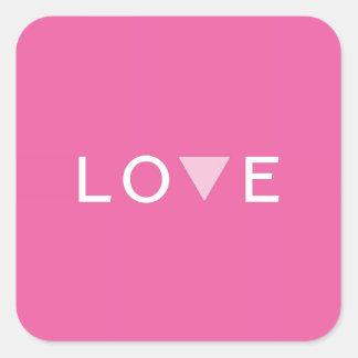 Gay Love and Pride Square Sticker