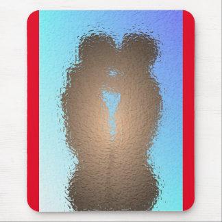 Gay Love Kiss Mouse Pad