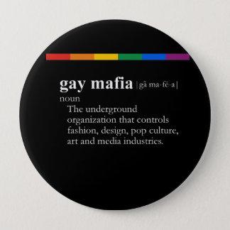 GAY MAFIA BUTTON