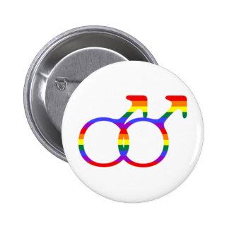 Gay Male Symbol Pinback Button
