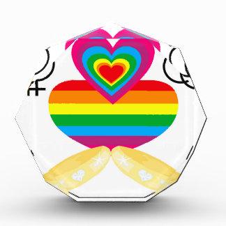 gay marriage acrylic award