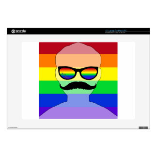 """Gay marriage avatar decals for 15"""" laptops"""