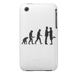 Gay Marriage Evolution iPhone 3 Case