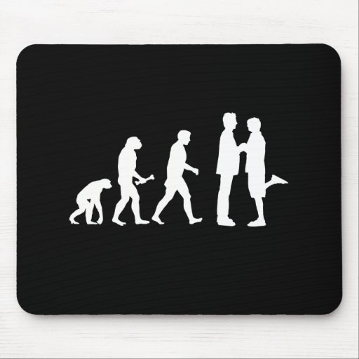 Gay Marriage Evolution - Mousepad