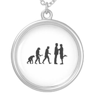 Gay Marriage Evolution Necklace